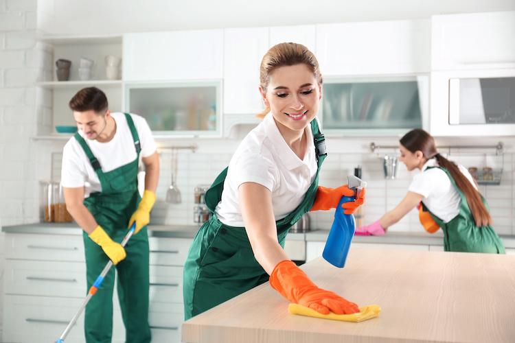 شرکت خدماتی نظافت منازل و شرکت ها